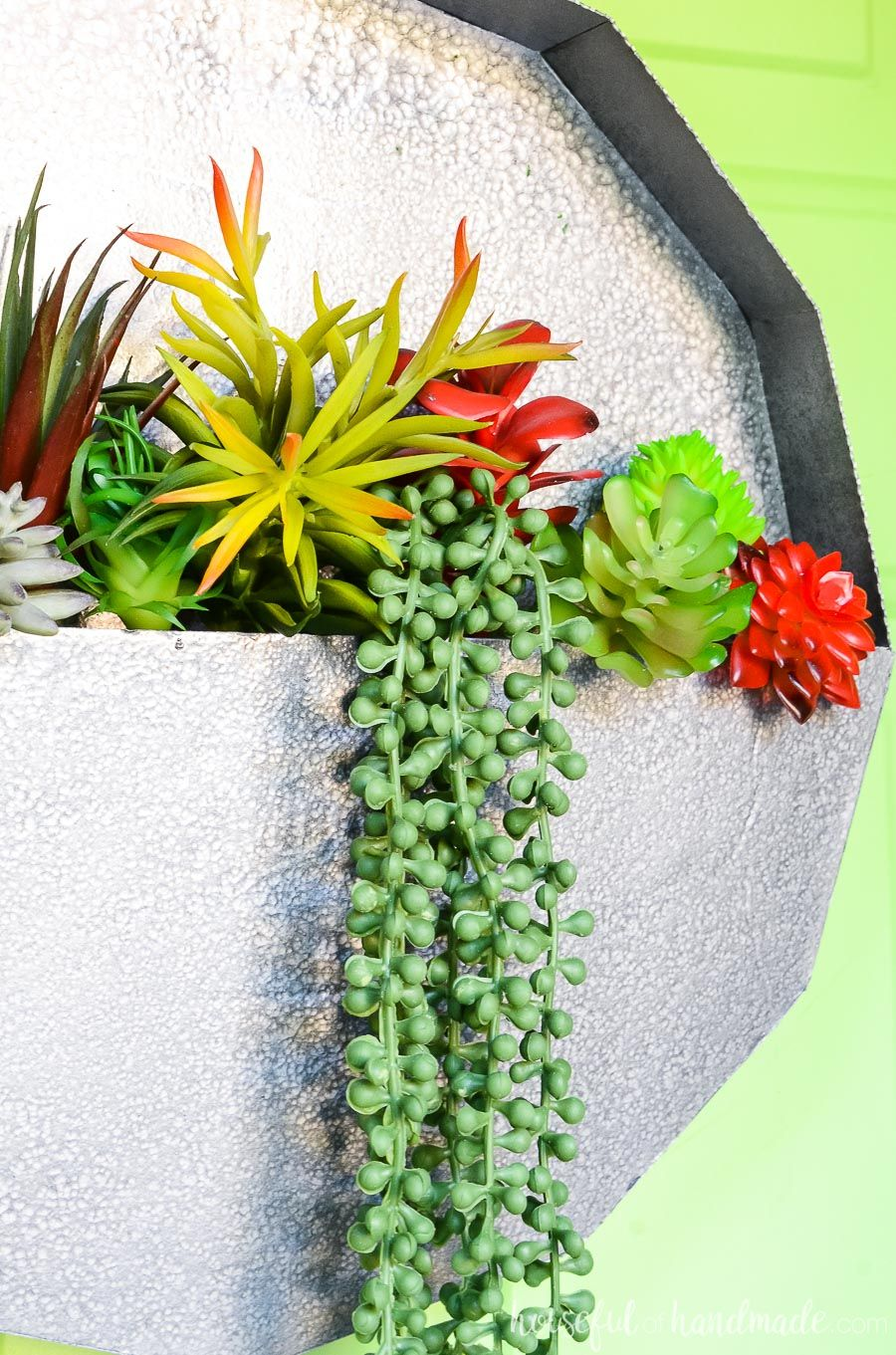 Easy Succulent Wall Planter Craft | DIY Projects ...
