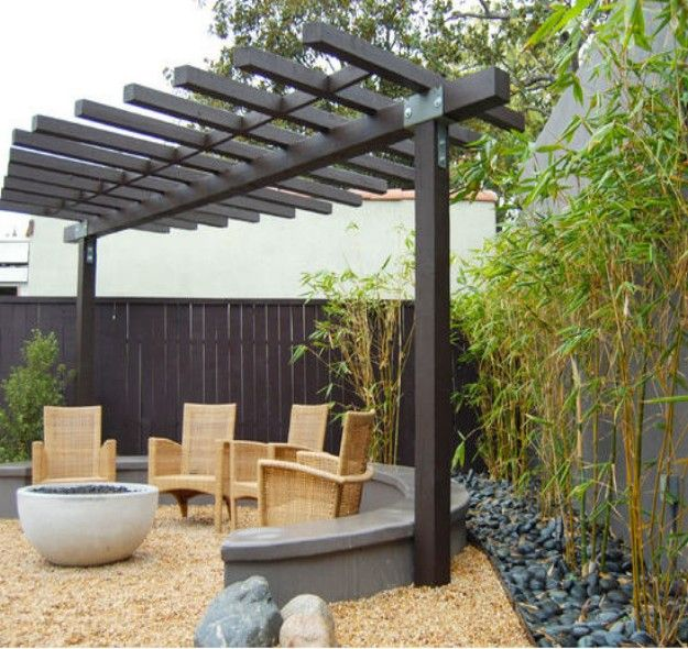 Pergola Small Yard: Pergola Ideas For Small Backyards