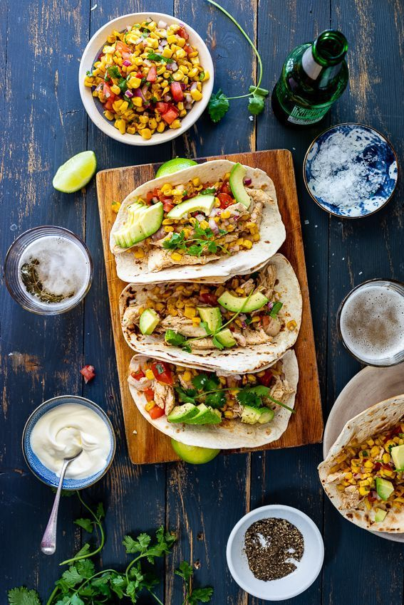 Shredded chicken tacos with corn salsa #shreddedchickentacos Shredded chicken tacos with corn salsa - Simply Delicious #shreddedchickentacos Shredded chicken tacos with corn salsa #shreddedchickentacos Shredded chicken tacos with corn salsa - Simply Delicious #shreddedchickentacos