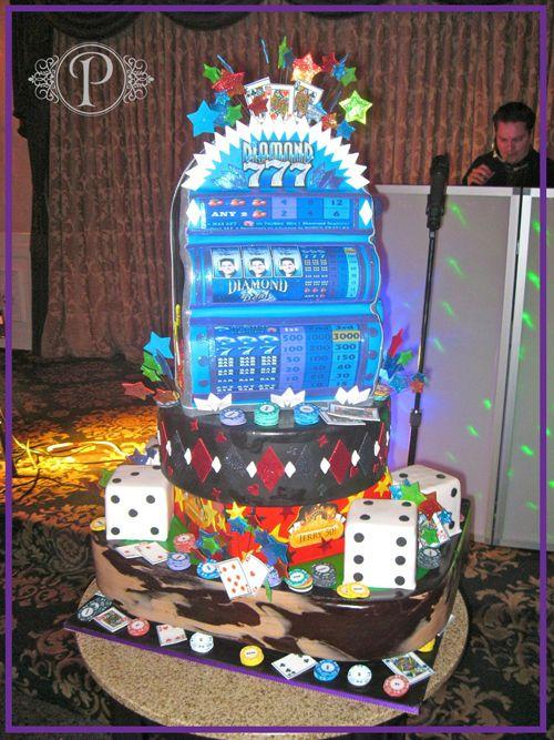 Slot Machine Birthday Cake Birthday Cakes In 2018 Pinterest