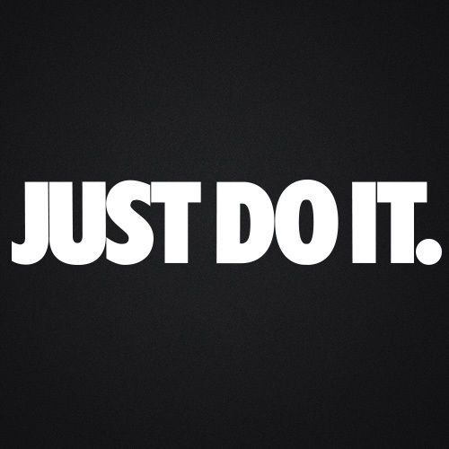 Nike Just Do It Car//Vehicle//Wall//Kitchen Vinyl Stickers Decal Graphics Kit