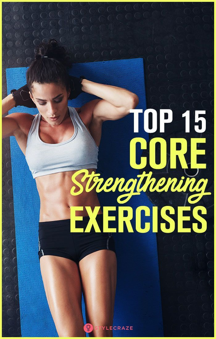 15 Best Core Strengthening Exercises You Can Do At Home #strengtheningexercises