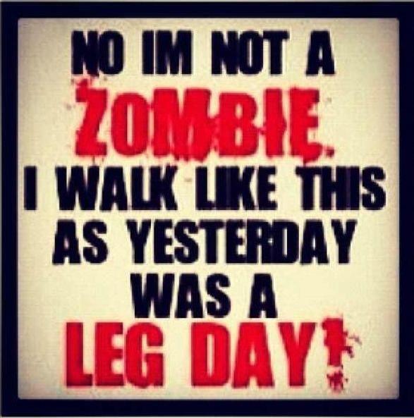 Yep!!! Leg day is my fave!