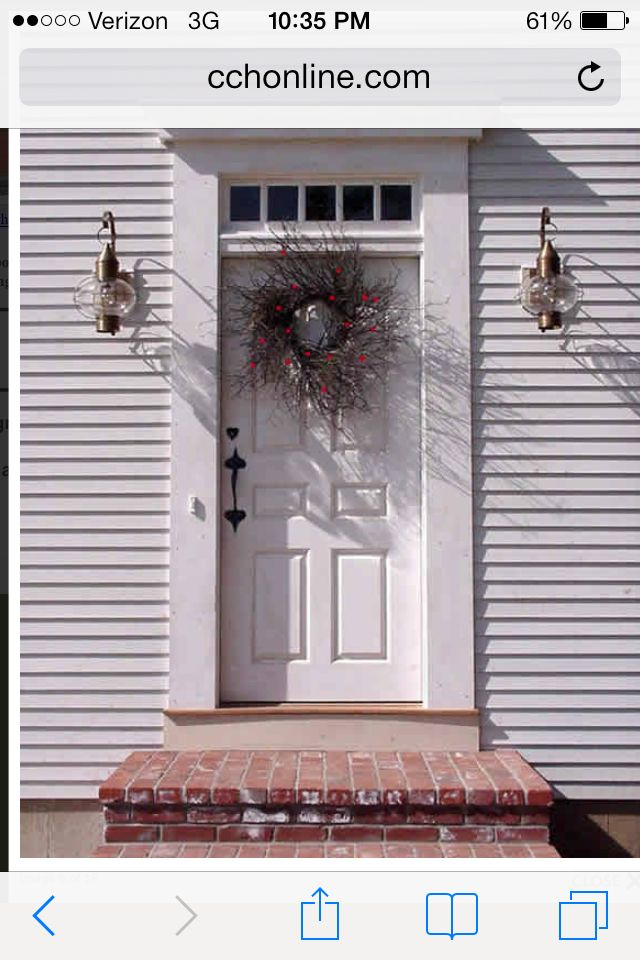 Colonial Front Door With Images Colonial Exterior Colonial House Exterior Doors