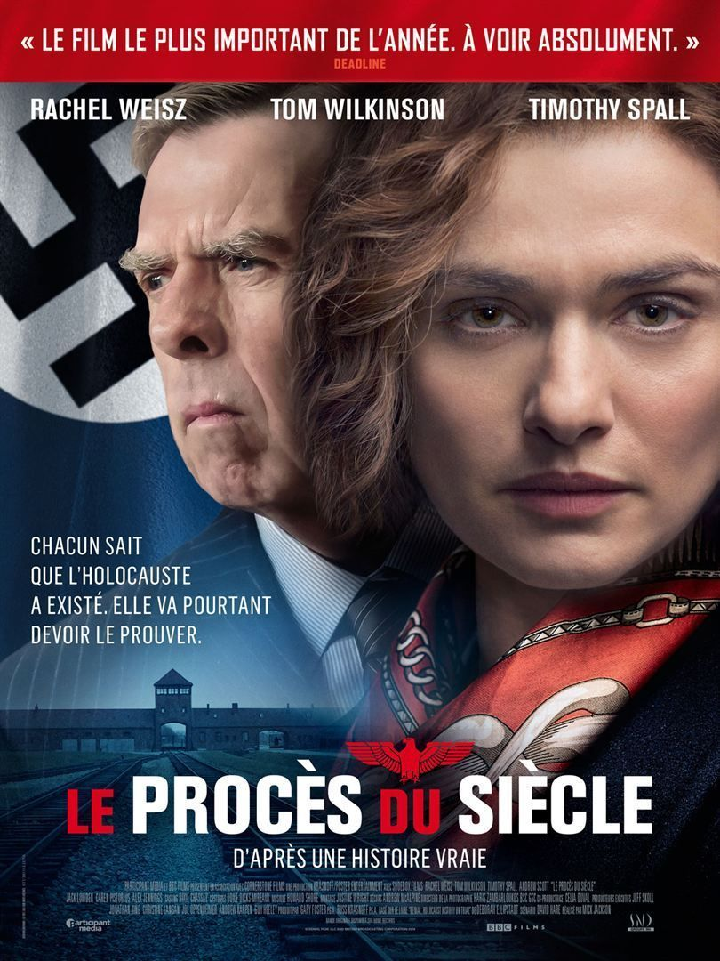 Denial (Mick Jackson), 2016 Le Procès du siècle Film