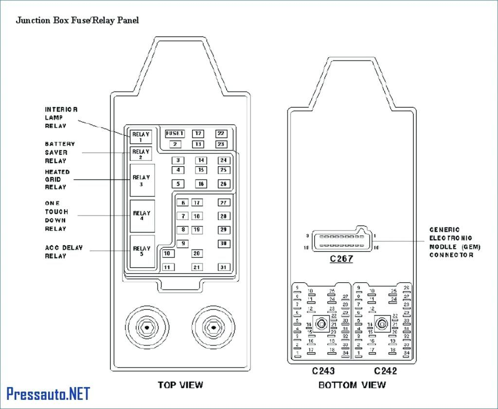 2000 Ford Windstar Fuse Box Diagram Car Wiring Diagrams