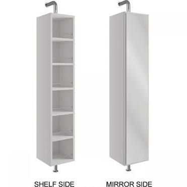 Excellent Tall Swivel Mirrored Bathroom Cabinet Google Search I Beutiful Home Inspiration Ponolprimenicaraguapropertycom