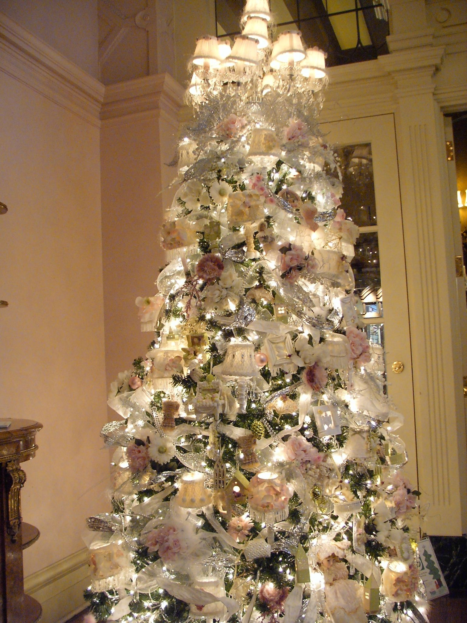 Empress hotel tea room victoria bcshabby chic chandelier christmas empress hotel tea room victoria bcshabby chic chandelier christmas tree aloadofball