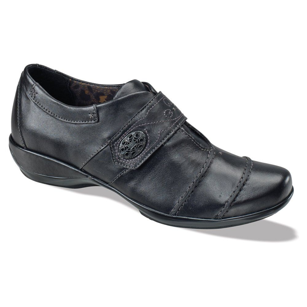 Aetrex Women's Corinne Monk Strap,Black Leather,US 5.5 B. Origin: Imported.  Athletic ShoesEasy ...