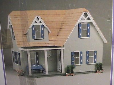Gg Products Made In Usa The Country Dollhouse N0 G8803 Wood