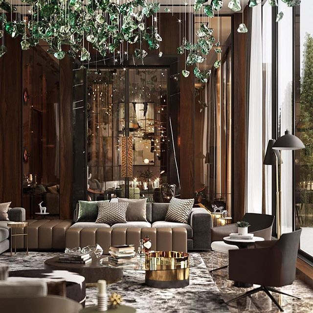 Repost From Gallottieradice Stunning Interior Featuring Our Haumea And Gong Coffee Tabl Luxury Interior Design Living Room Designs Luxury Living Room Design