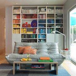 Utilizando os livros como objetos de decoração