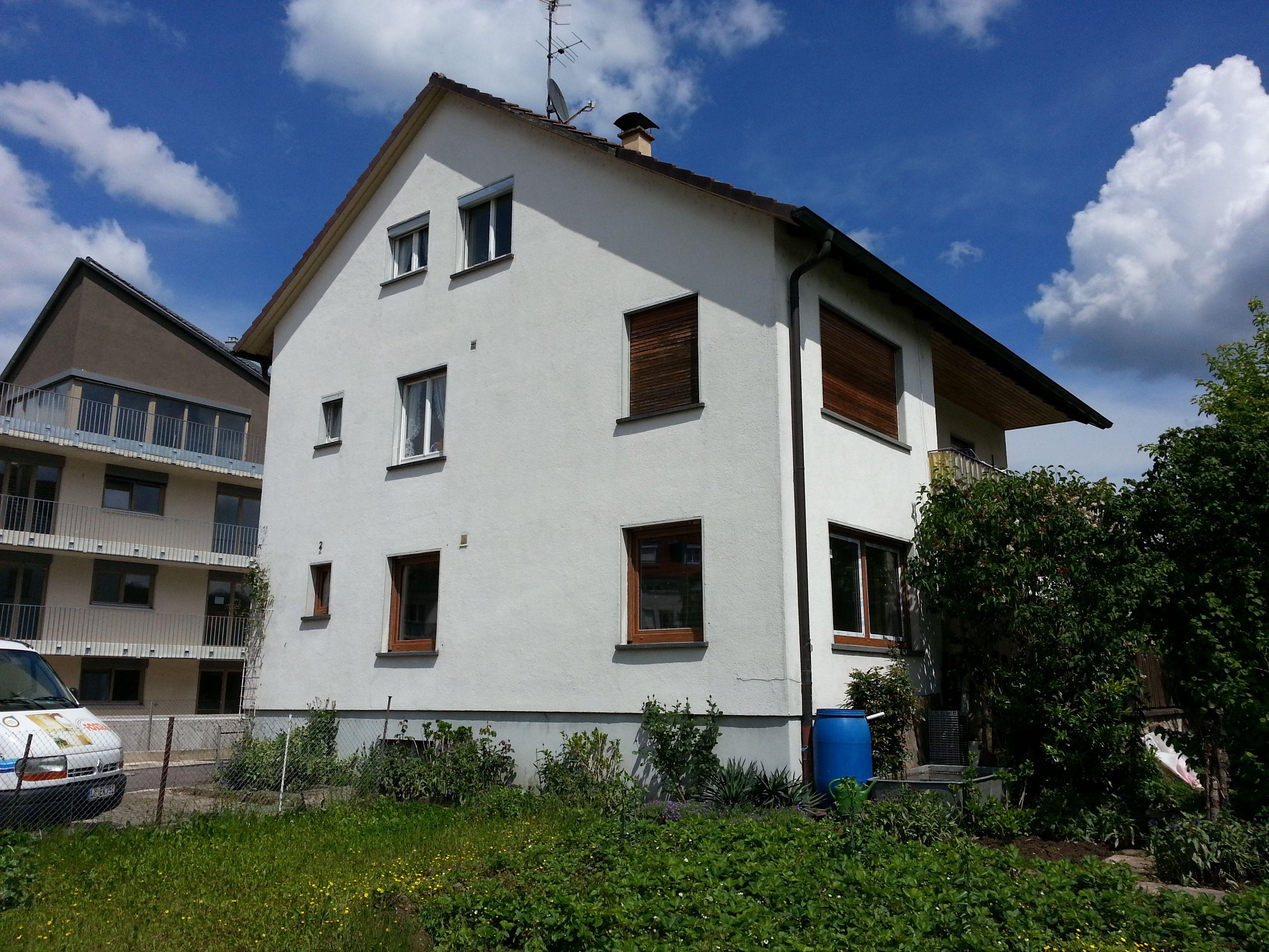 Sanierung des altes Hauses in Lörrach