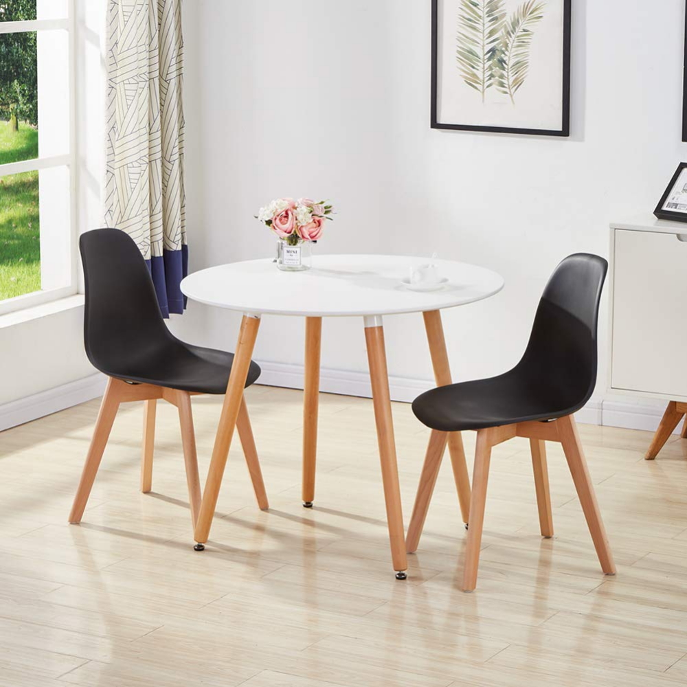 GOLDFAN Dining Chairs Set of 4 Kitchen Chairs Simple