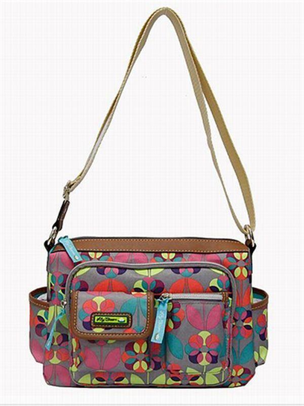 b56dff805 NWT Lily Bloom Libby Crossbody Bag Satchel & Shoulder Bag Floral Dot New *  #LilyBloom #MessengerCrossBody