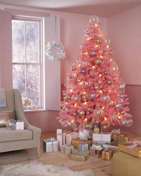 Pink Explosion! | Soft Pink Christmas | Pinterest | Pink christmas