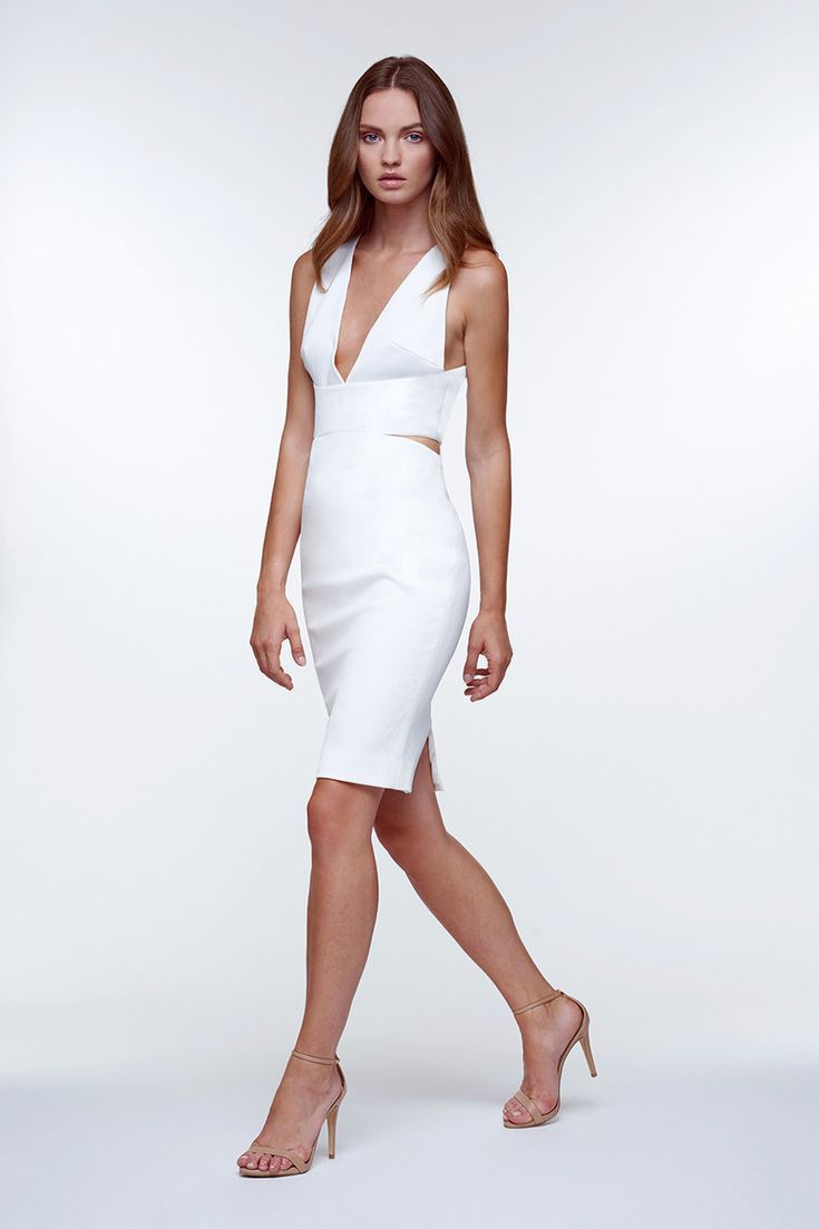 Engagement Party Dresses You Can Buy Now #dressesforengagementparty 13 Little White Cocktail Dresses for Your Engagement Party #dressesforengagementparty