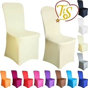 Tts 100pcs Spandex Lycra Housses De Chaise Devant Plat Restaurant Mariage Soiree Fete Rouge Wedding Tabl Cheap Chair Covers Chair Covers Wedding Cheap Chairs