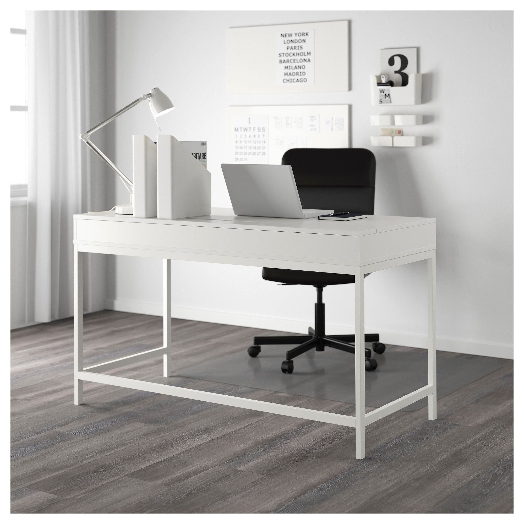 Ikea Alex Desk White