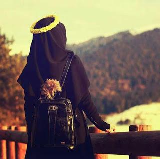kumpulan anime kartun muslimah bercadar cantik muslimah