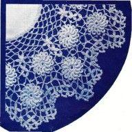 Pretty doily crochet pattern for your downton abbey era english tea table