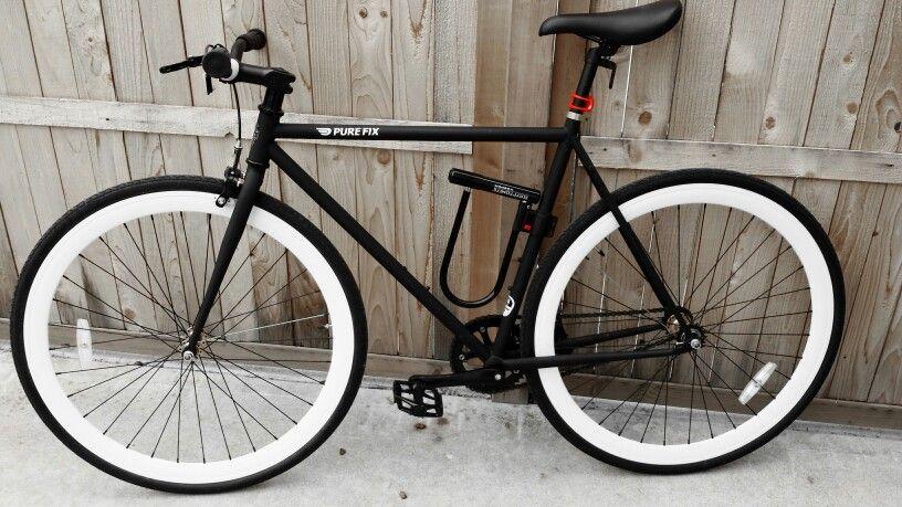 My PureFix fixed gear bike