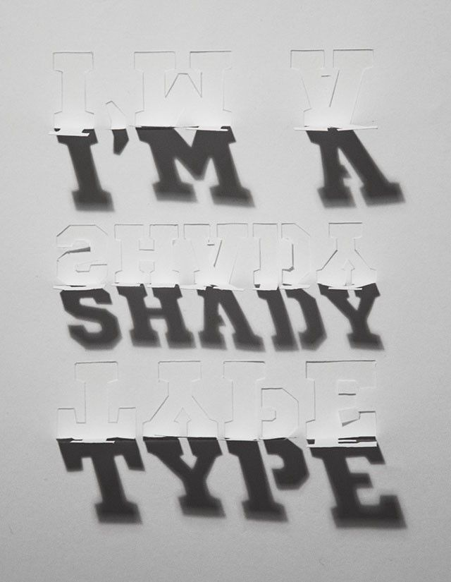 Typography inspiration #3dtypography
