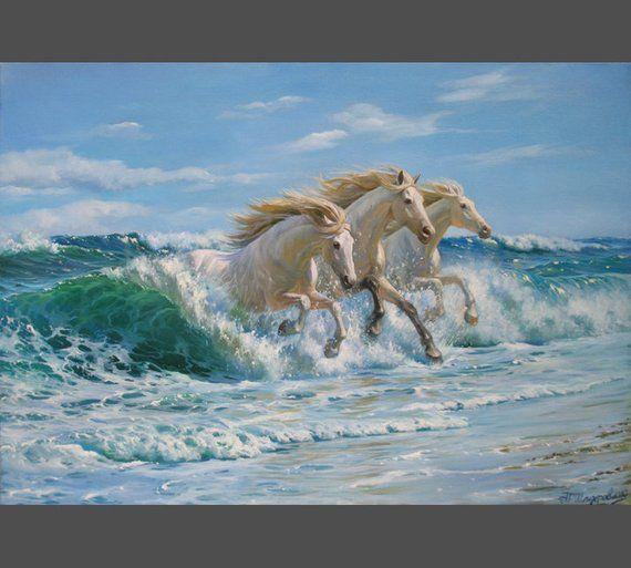 Seascape Painting By Alexander Shenderov Ocean Art