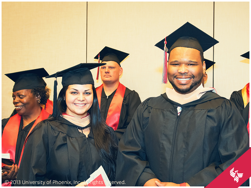 Grads patiently wait for commencement to start. #UOPX #Graduation ...