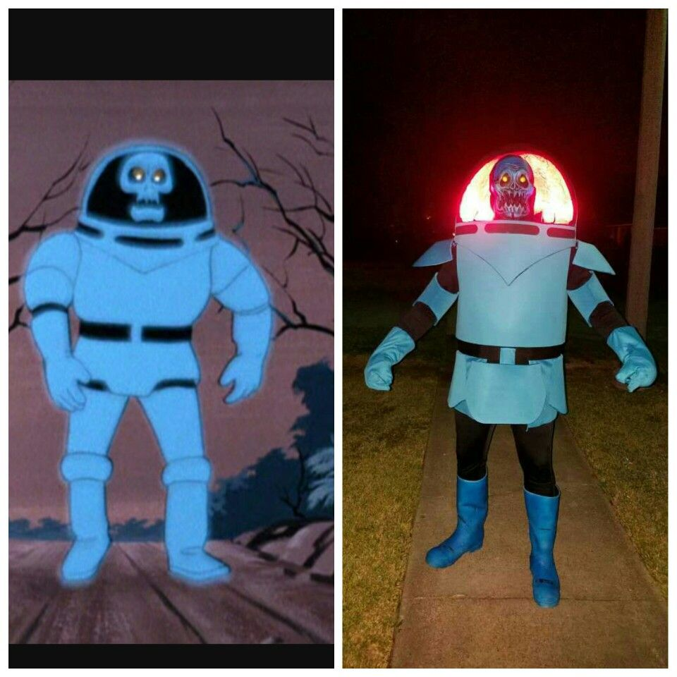 Scooby Doo villain, Spooky Space Kook. I made this costume