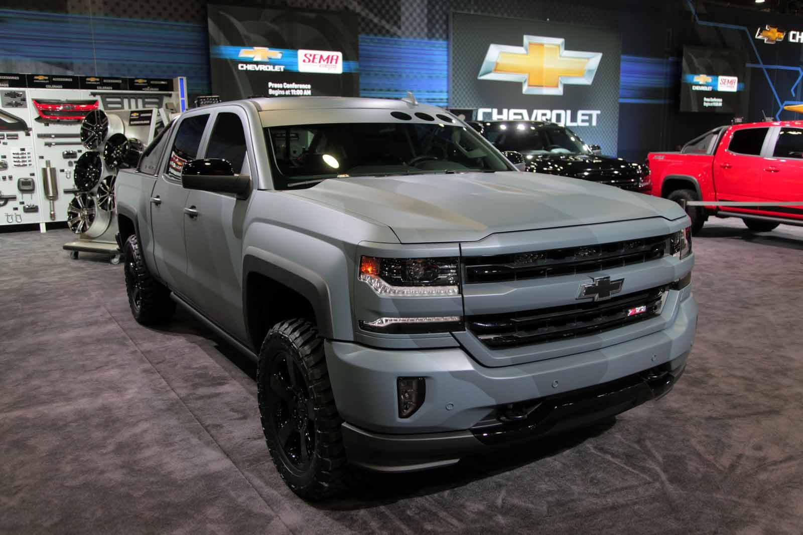 Truck chevy concept truck reaper : 2016-Chevy-Silverado-Special-Ops01.jpg (1600×1067)   Action Sport ...