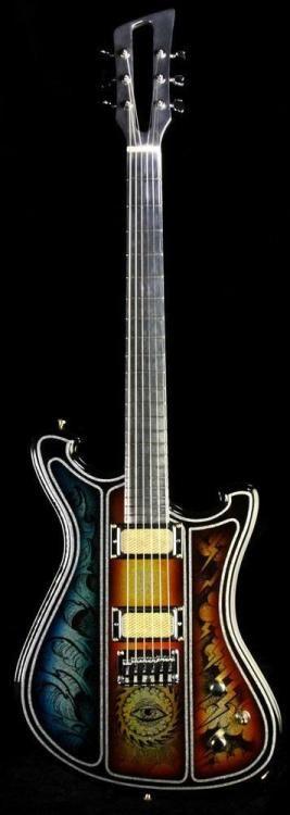 Wild Custom Guitars Wildmaster Alu Flake with Aluminum Neck  Lardys Chordophone of the day 2017  --- https://www.pinterest.com/lardyfatboy/