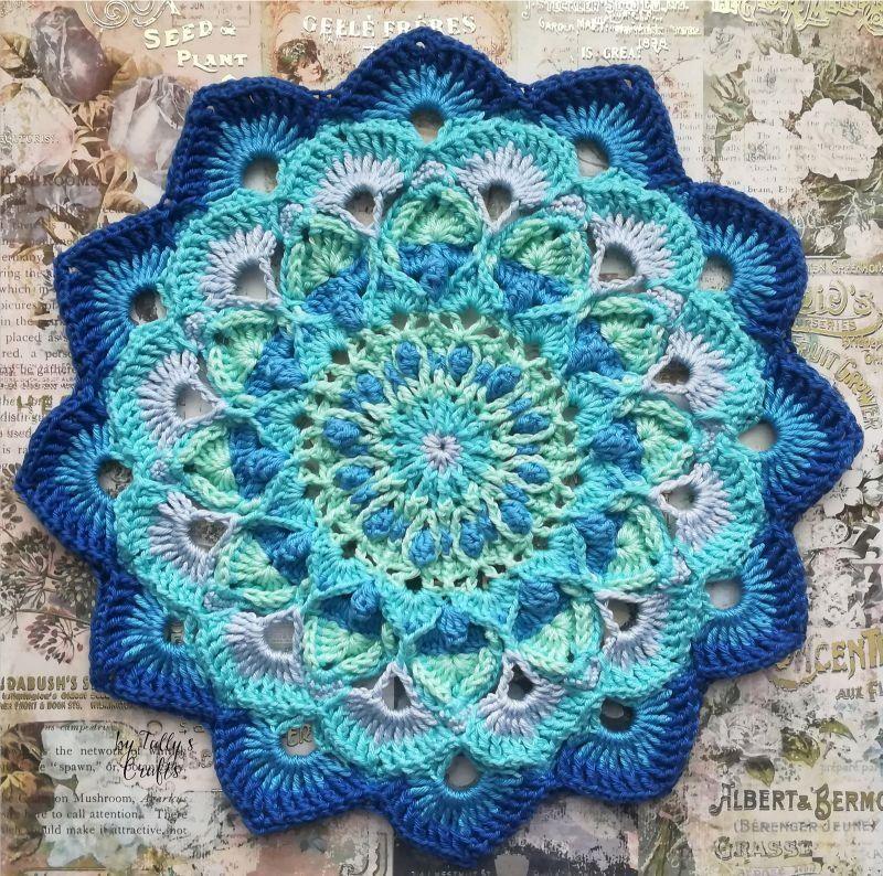 Amazing Crochet Mandalas #crochetmandalapattern
