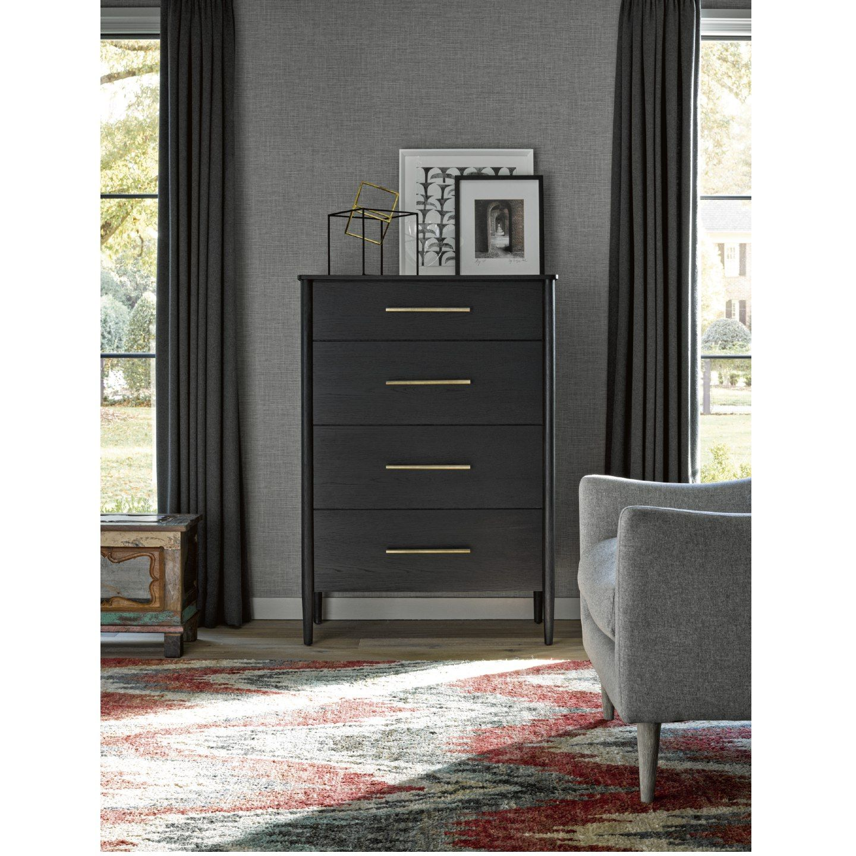 David Modern Classic Black Wood 4tall Dresser Universal Furniture Tall Dresser Furniture [ 1440 x 1440 Pixel ]
