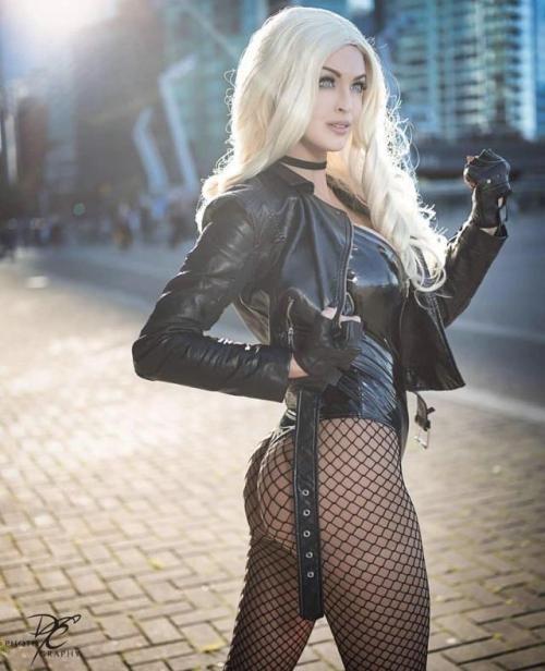 Black Canary Cosplay by ozbattlechick on DeviantArt
