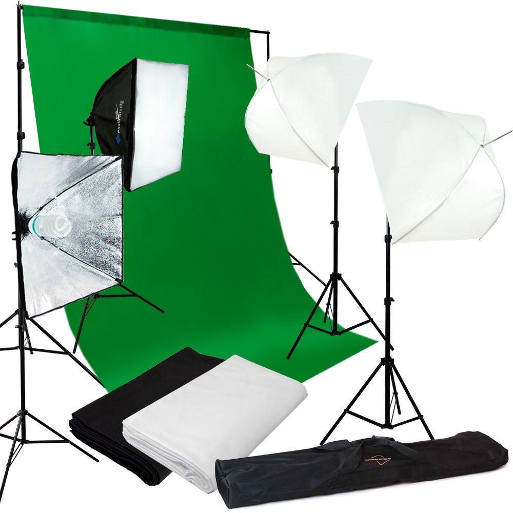 Studio Light Video Photo Softbox Photography Kit Muslin Backdrop Lighting Kit  sc 1 st  Pinterest & Studio Light Video Photo Softbox Photography Kit Muslin Backdrop ... azcodes.com