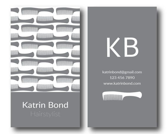 Hairstylist Business Cards Hair Stylist Business By GMBusinesscard - Hair stylist business card template