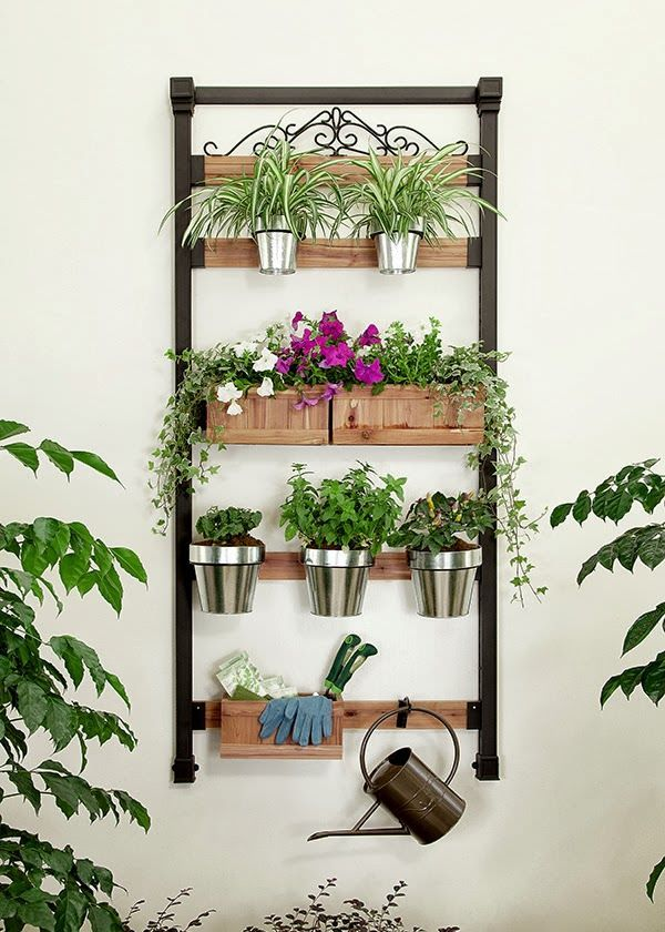 Vertical Gardening Ideas balcony vertical garden 15 16 Genius Vertical Gardening Ideas For Small Urban Gardens