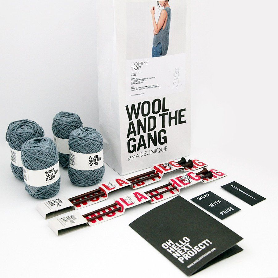 HANK & HOOK // Wool and the Gang Tommy Top Knit Kit