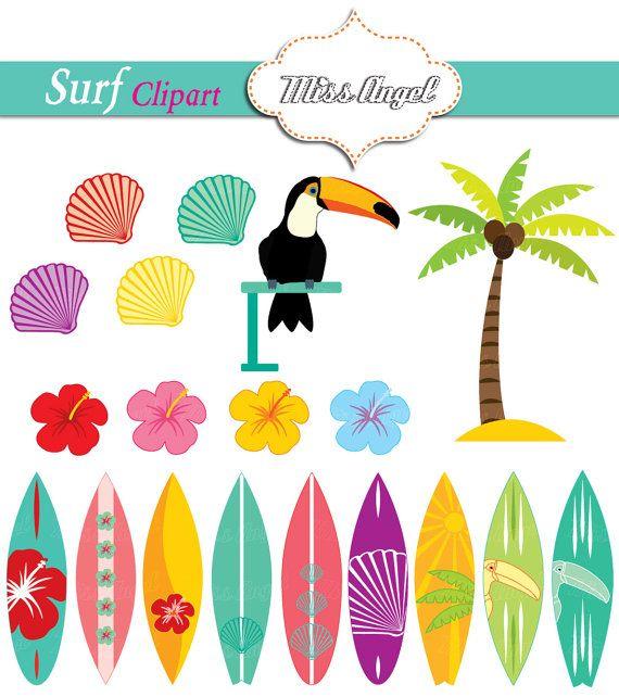 Surfboard Clip Art at Clker.com - vector clip art online, royalty free &  public domain