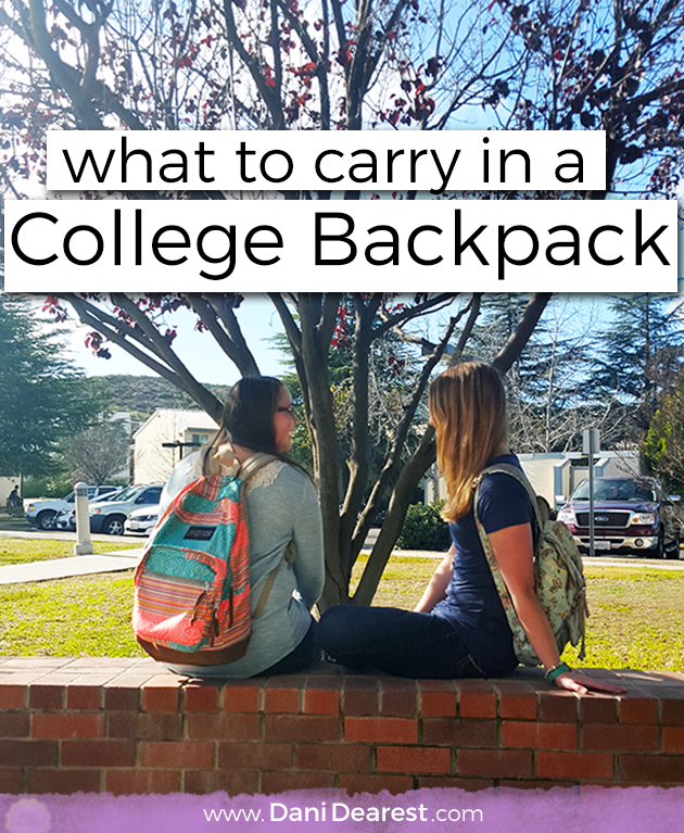 What to Carry in a College Backpack | Wallets, Your life and Read more