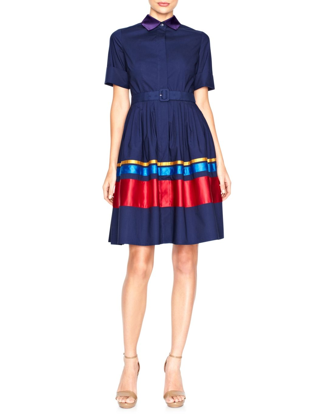 Sophie Theallet Shirt Dress Womens Dresses The Limited