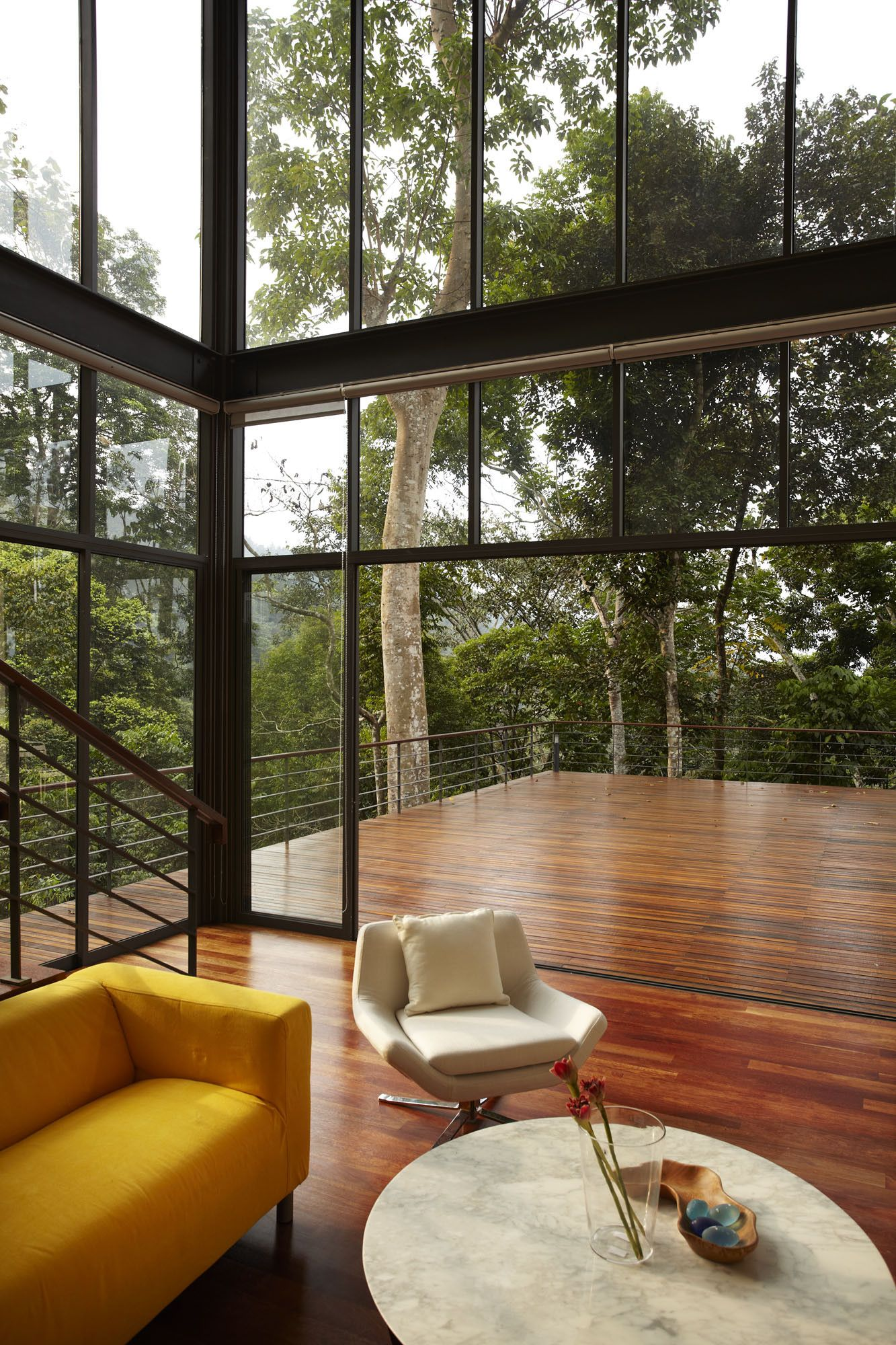 Interesting House Exterior Design In Kulai Malaysia: Gallery Of The Deck House / Choo Gim Wah Architect - 25