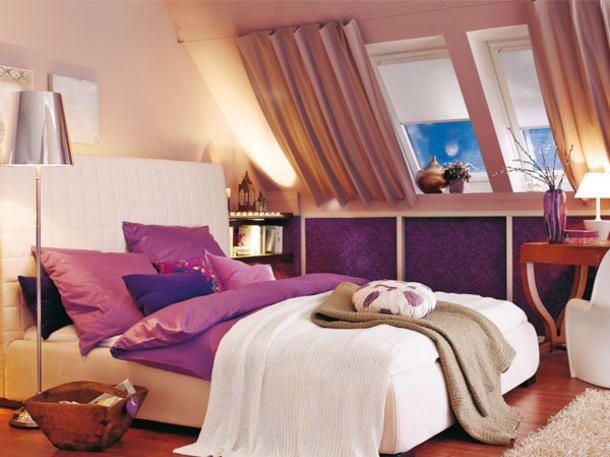 Vorher-Nachher Eine Dachschräge clever gestalten - schlafzimmer mit dachschrage gestalten wohnideen