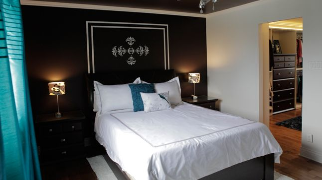Une chambre de style h tel chic chic hotels and decoration for Decoration maison de maitre