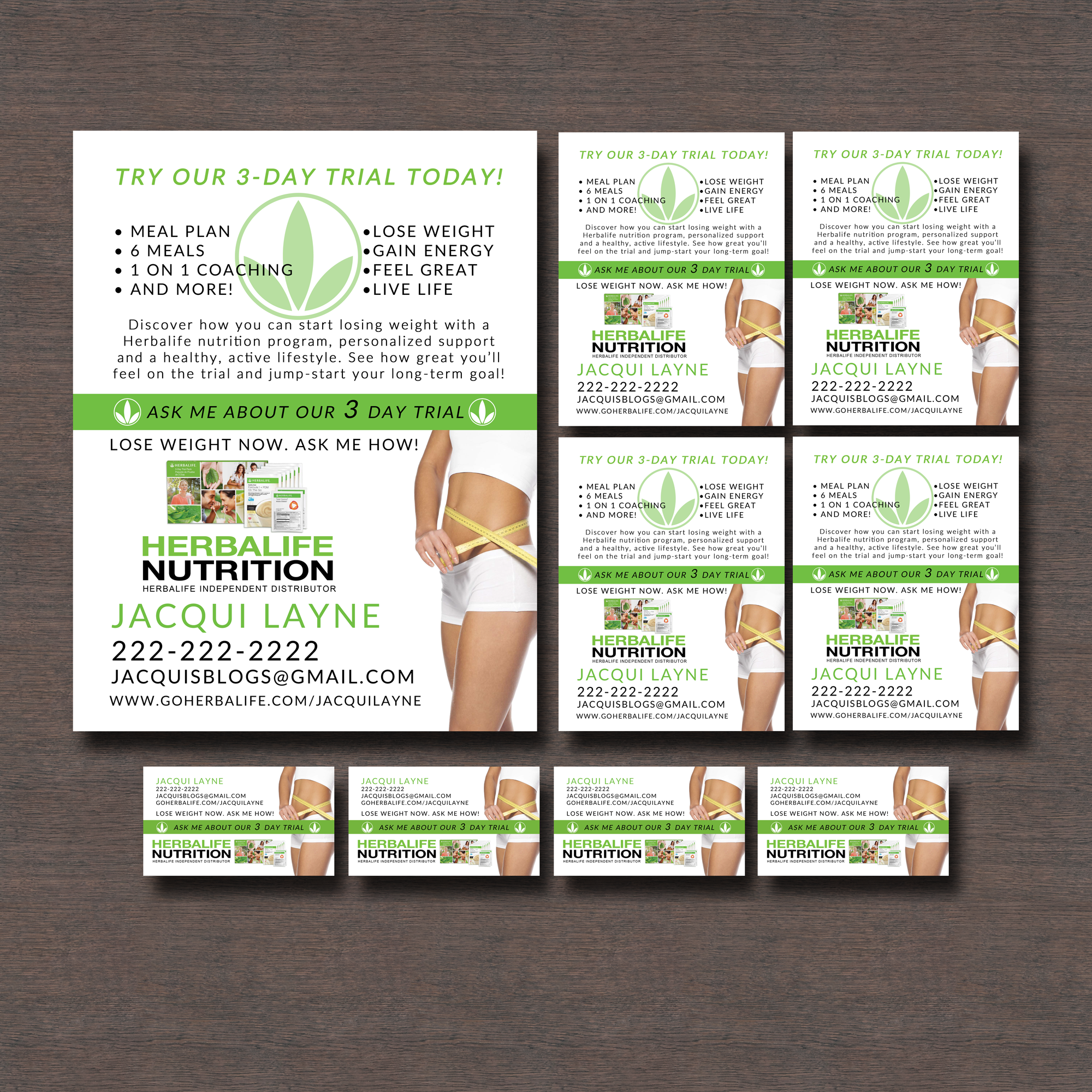 New Listings: Herbalife Business Cards And Flyers | weight loss ...