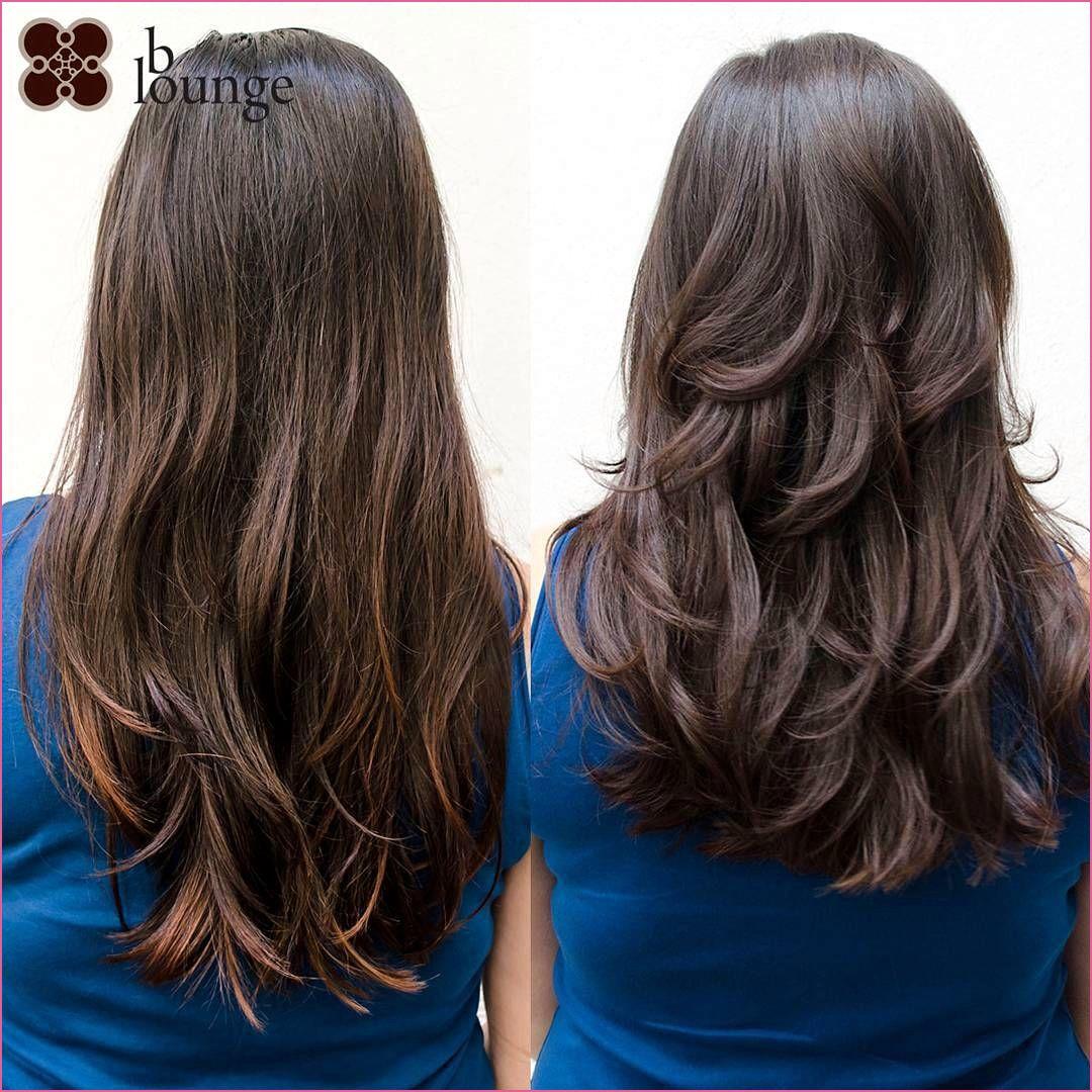genial Business Frisuren Frau in 9  Stufenschnitt lange haare