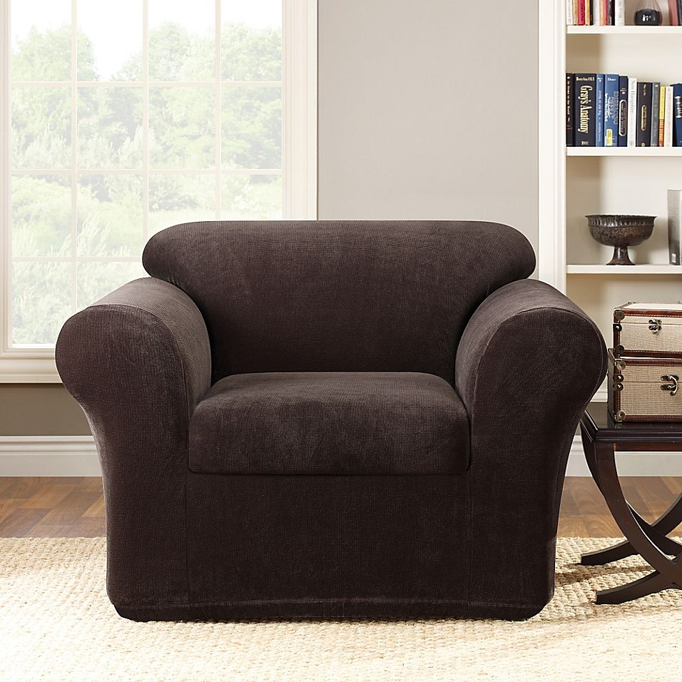 Sure Fit Stretch Metro 2 Piece Chair