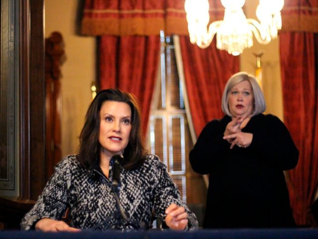 200 000 Michiganders Sign Petition To Oust Governor Whitmer One America News Michigan Radio Talk Shows