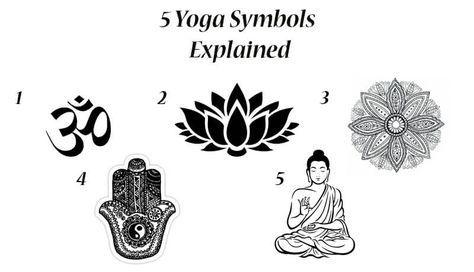 Yoga Symbols Yoga Symbols Om Symbol And Symbols